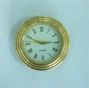 40mm metal insert clock