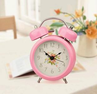 metal double bell alarm clock