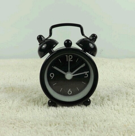 Mini metal alarm clock