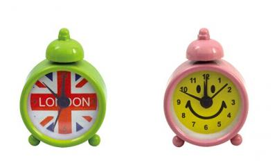 Mini single bell kid's clock