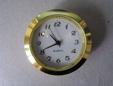 small metal insert clock