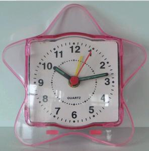 cheap plastic star table clock