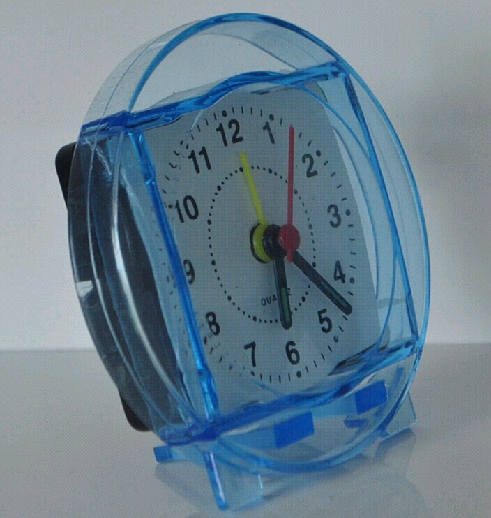 promotional simple desk alarm clock