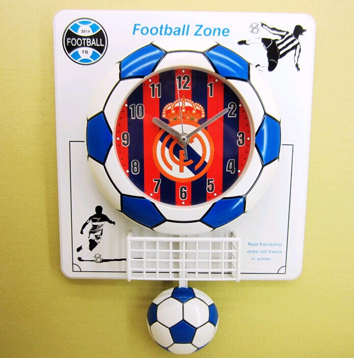 world cup celebrate football clock