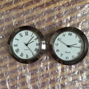 1 7/16inch plastic insert clock fit up clock